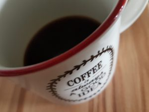 Kaffetasse mit Espresso